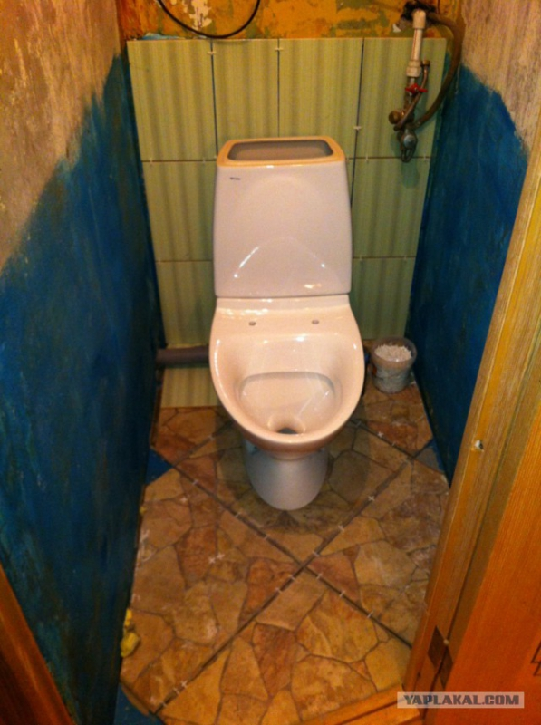 Фото ремонта туалета своими руками
