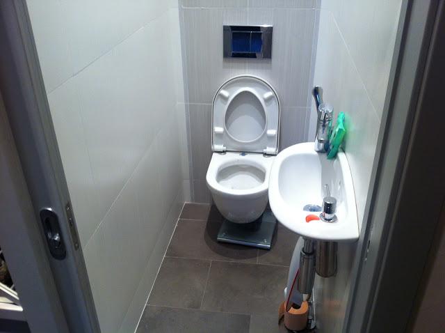 Фото туалета и умывальник дизайн 71