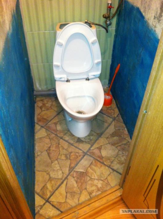Пошаговый фотоотчет ремонта туалета в хрущевке своими руками (20 фото)
