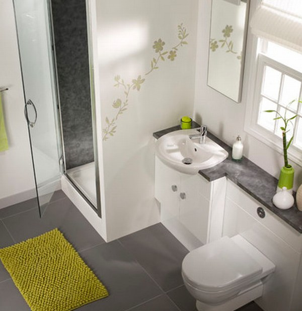 Декор для маленькой ванной комнаты дизайн