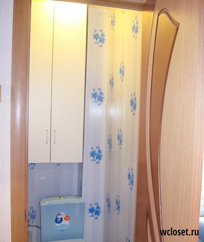 Туалет стены из пластика