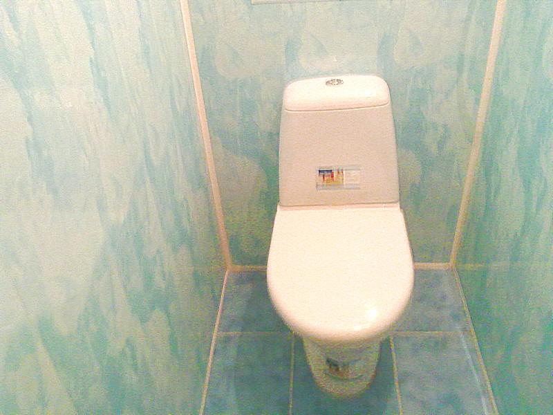 Отделка туалета сайдингом своими руками 89