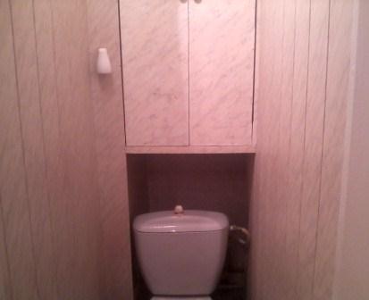 Дизайн туалета из панелей
