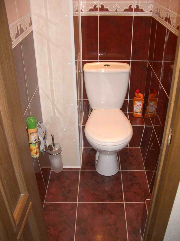 Как в туалете спрятать трубы