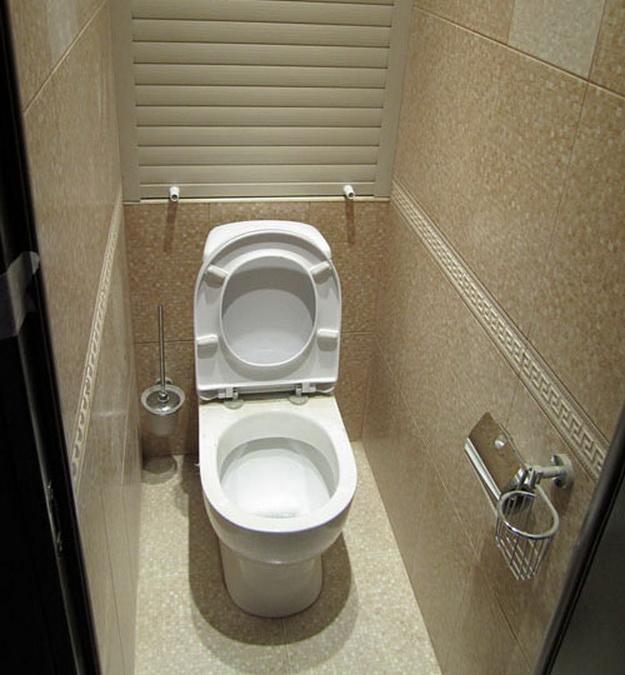 Как оформить туалет в квартире своими руками 30