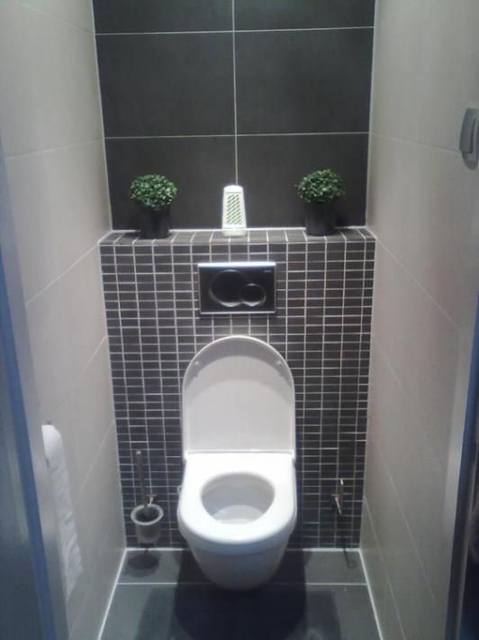 Дизайн туалета маленького размера в фотографиях