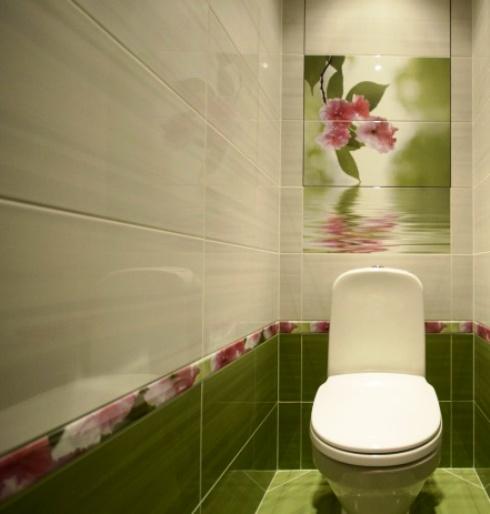 Стены в туалете фото