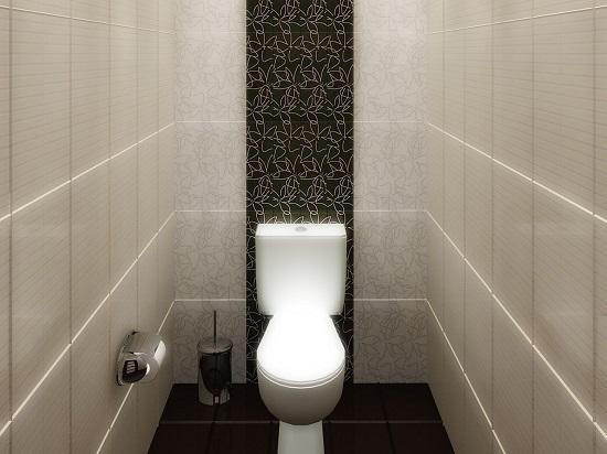 Дизайн плитка в туалете