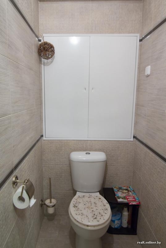 Лючки для туалета коричневого цвета