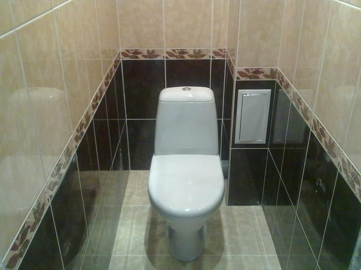 Ремонт туалета мозаика дизайн 56