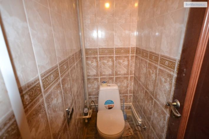 ПВХ панели для туалета - <strong>дизайн ванной комнаты фото из панелей</strong> фото