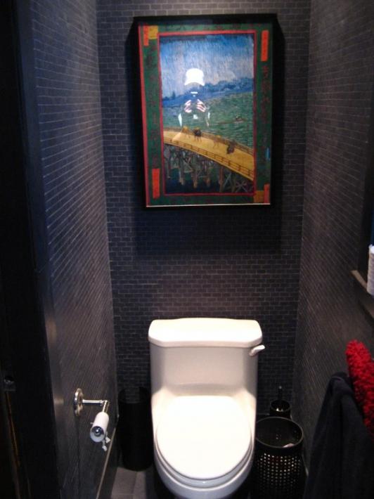 ПВХ панели для туалета - фото