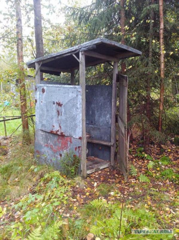 Туалет из осб плиты своими руками 277