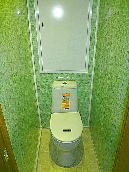 Как сделать туалет и ванну панелями 102