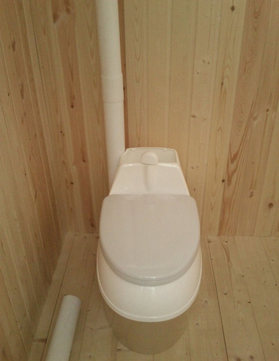 торф'яної туалет