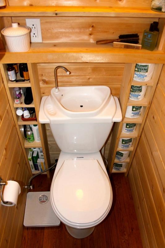 Изготовление туалетов своими руками 50
