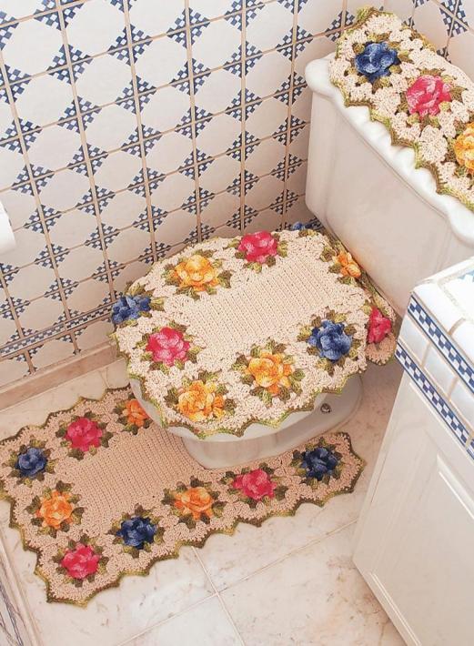 Японские коврики своими руками