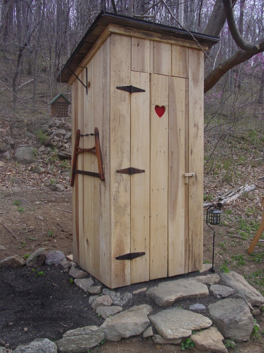 Туалет на даче без выгребной ямы
