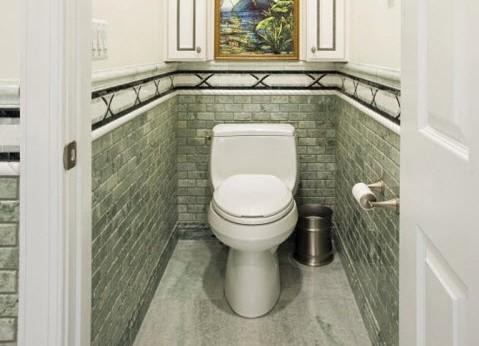 Туалет варианты отделки плиткой